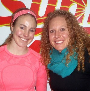 Laura Tripp and Kristin Wodzinski with ACTIVE Physical Therapy