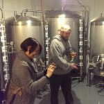 Some other Micro Brew fans checking out the Keg Cooler