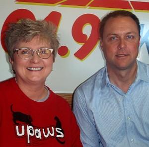 Ann Brownell and Matt Johnson