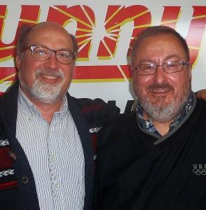 Dan Truckey and Tony Tollefson