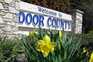 Door County Welcome Sign
