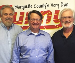 U.S. Senator Gary Peters in the SUNNY Studios with Walt & Mike.