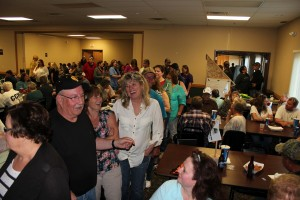 The Red Rock Lanes in Ishpeming was PACKED!