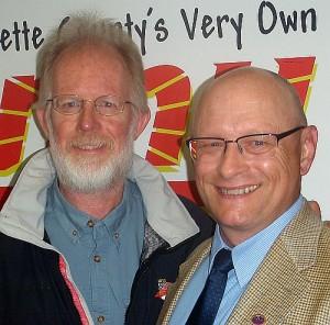 Neil Lynch and Gary Rasmussen