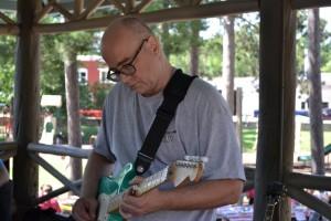 Guitarist from Rhodes and Gillum, Gwinn Fun Daze 2015
