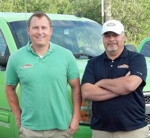 Neil Bonetti and Ryan Gay of Servpro of the Upper Peninsula.