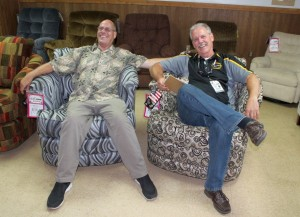 Gordon Mielke was live with Dale and Ryan from Gwinn Furniture Outlet!