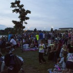 Gathering on Teal Lake for The Pioneer Days Firework Display 2015, Negaunee, MI