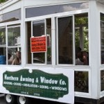 Northern Awning and Window Company in the Pioneer Days Parade, Negaunee, MI 2015