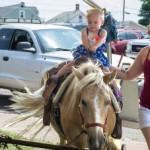 Pony Rides at the Pioneer Days Community Picnic, Negaunee, MI 2015
