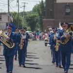 Negaunee City Band in the Pioneer Days Parade 205, Negaunee, MI
