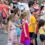 Pioneer Days Parade Viewers, Negaunee, MI 2015