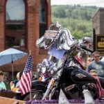Harley to win in the Negaunee Pioneer Days Parade, 2015