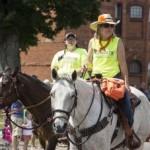 Joni Gleason and Heritage Hills in the Pioneer Days Parade, Negaunee, MI 2015