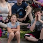 Siblings at the Pioneer Days Parade 2015