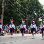 Blue Notes in the Pioneer Days Parade 2015