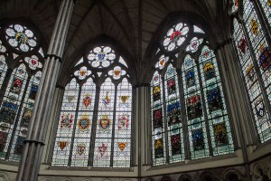 Stained Glass in Westminster Abbey, London, England, taken by Lauren Bareiss- Saddleback Photo
