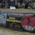 Jess Kempkes motorsport show at the Marquette County Fair 2015
