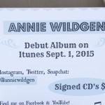 2015 Performance for Annie Wildgen at the Marquette County Fair 2015