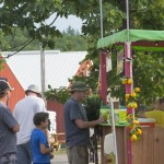 Lemonade stand was a hit at the Marquette County Fair 2015!
