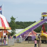 Carnival Rides at the Marquette County Fair 2015
