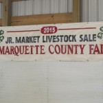 4-H Jr Market Livestock Sale at the Marquette County Fair