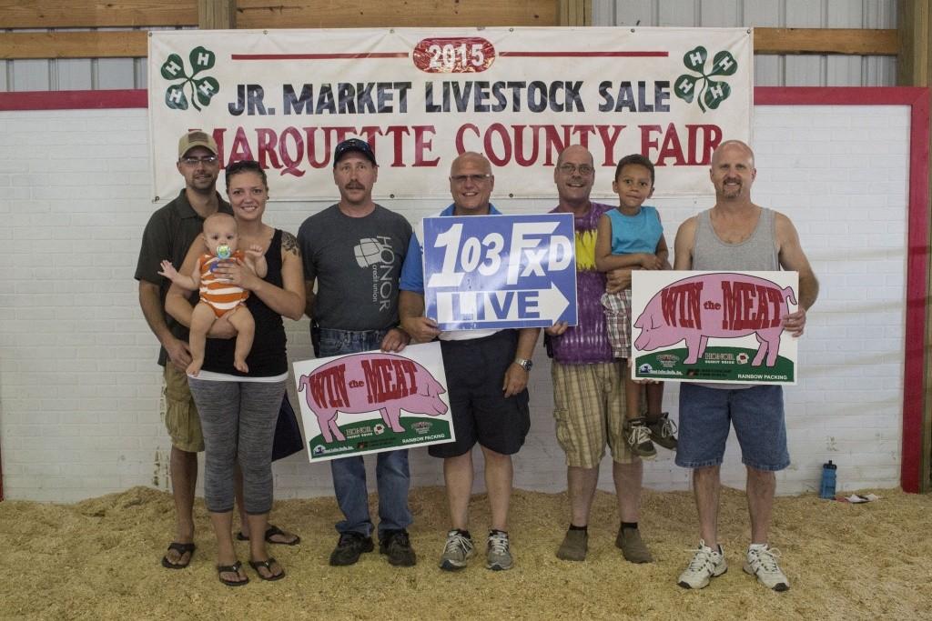 Winners: Derick Johnson of Gwinn (Not pictured), Dan Dompierre of Negaunee, Ashley Perry of Ishpeming, Carter Vincent of Gwinn Sponsors: Ron Lauren and Todd Noordyk