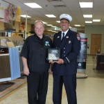 Carpet Specialists Carpet One Stephen Siller Tunnel to Towers Foundation Presentation of Trade Center Steel 01