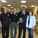 Carpet Specialists Carpet One Stephen Siller Tunnel to Towers Foundation Presentation of Trade Center Steel 02