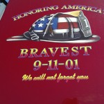 Carpet Specialists Carpet One Stephen Siller Tunnel to Towers Foundation Presentation of Trade Center Steel Ishpeming 08