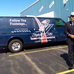 Carpet Specialists Carpet One Stephen Siller Tunnel to Towers Foundation Presentation of Trade Center Steel Ishpeming 10