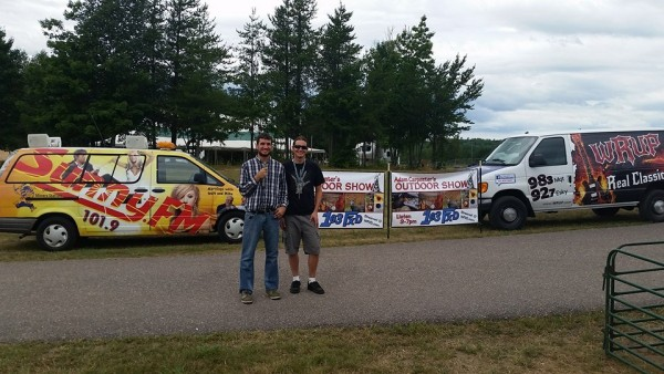 Great Lakes Radio at the Marquette County Fair