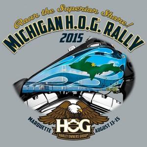 2015 MI HOG Rally in Marquette, MI