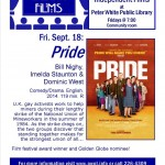 CineArts Film- Pride - comes to the Peter White Public Library