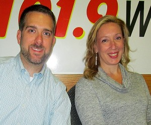 Michael Hedges and Melissa Curran