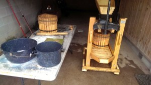 Our Cider press has done hundreds of gallons