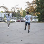 These guys had some fun with it at the Phi Sigma Sigma 5K