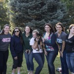 Some of the ladies of NMU's Phi Sig chapter