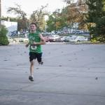Runner during the Wildcat Stride for Education 5K!