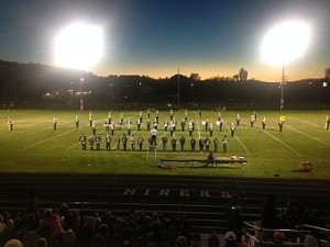 The Negaunee Miners won 44-7 against the Norway-Vulcan Knights on Sunny.FM.