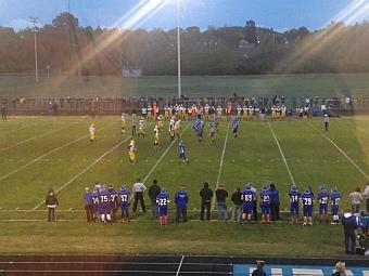 Negaunee Miners Football VS Ishpeming Hematites 10/09/15