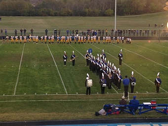 Negaunee Miners Football VS Ishpeming Hematites 10/09/15