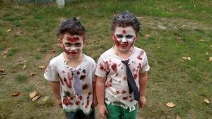 Zombie Children Silver Creek Run Teachign Family Homes Walking Dead Harvey Non-Profit