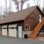 Take a look at this beautiful 3 car garage!