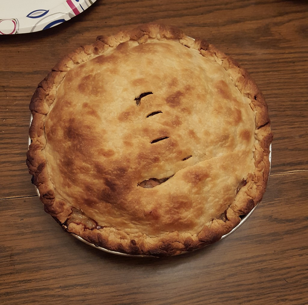 Luke Pasty Pie in The UP of Michigan Hearty Winter Food