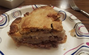 Luke Pasty Pie in The UP of Michigan Hearty Winter Food 02