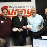 Paul Halbur - Riverside Marquette, Doug Russell - Room at the Inn, Bill Tibor - Great Lakes Radio, Ed Czenkus - Super One Foods