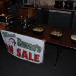 Mama Russo's did a great job catering, putting smiles on everyones faces, and food in their bellies!