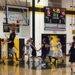 The Negaunee Miners Boys Basketball VS Gwinn Modeltowners 12/22/15