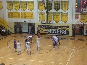 Negaunee Miners Boys Basketball VS Calumet Copper Kings on Sunny.FM 12/10/15